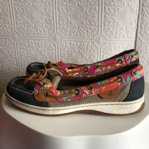 Sperry Tropical Print Topslider